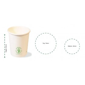 360ml Clear Bioplastic Cup 1000 pcs