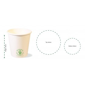 500ml Clear Bioplastic Cup 1000 pcs