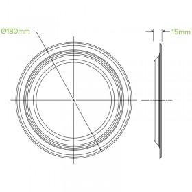 1 PLY Compact Dispenser Napkin (D Fold) Natural 240x225 - 5000 pcs