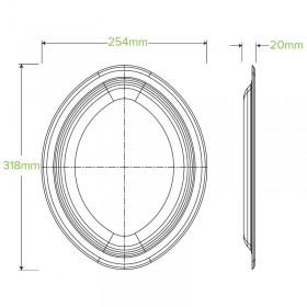 2 PLY 1/4 Fold Lunch White Napkin 300x300 - 2000 pcs