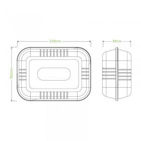 2 PLY 1/8 Fold Lunch White Napkin 300x300 - 2000 pcs