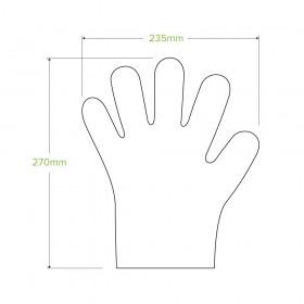 Compostable Paper Straw Regular 6x197mm - Black 2500 pcs