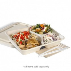 Lunch box with PLA window / MEDIUM 200 pcs