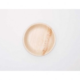 6in Palm Leaf Round Flat...