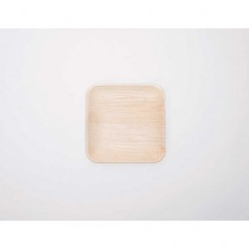 7in Palm Leaf Square Plate...