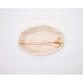 14in Palm Leaf Oval Tray...