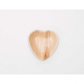 4-5in Palm Leaf Heart Shape...