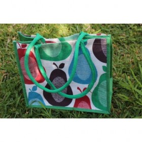 Jute Designer Bag (Fruit...