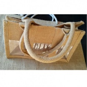 Three Jar Jute Bag  - 1...