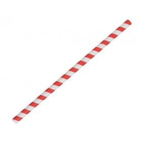 Jumbo Paper Straw Red...