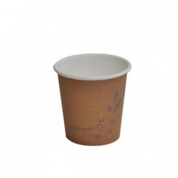 4oz PLA Single Wall Coffee...