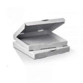 """15"""" White Pizza Box  50 pcs"""