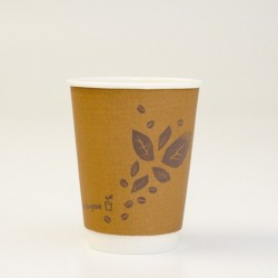 12oz PLA Double Wall Coffee...