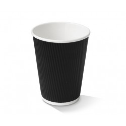 12oz Black Corrugated...