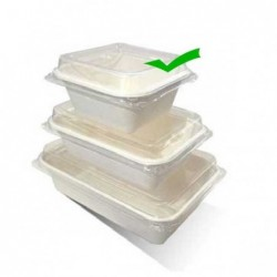 Lids for 7oz Tray Sugarcane...