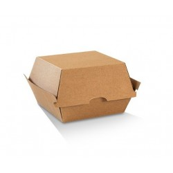 High Burger Box KRAFT Plain...