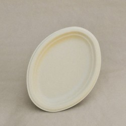 Small Oval Plate Bamboo...