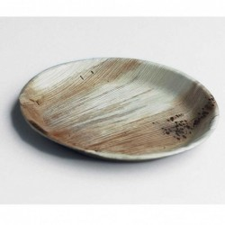 """10"""" Round Plate Palm Leaf..."""