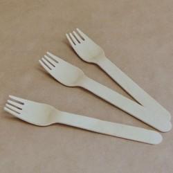 Takeaway Wooden Fork - FSC...