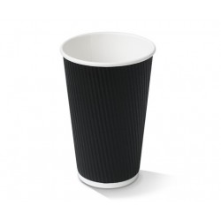 16oz Black Corrugated...