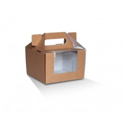 """6"""" Cake Box Takeaway  100 pcs"""