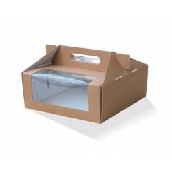 """9"""" Cake Box Takeaway  100 pcs"""