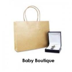 Brown Kraft Takeaway Bag -...