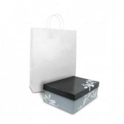White Kraft Bag - Medium...