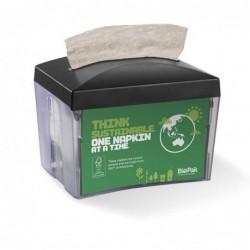 Napkin Dispenser with 1 ply...