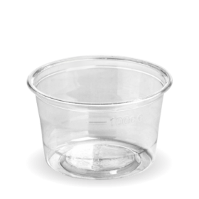 140ml Sauce BioCups - clear...
