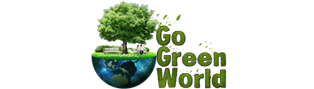 Go Green World logo